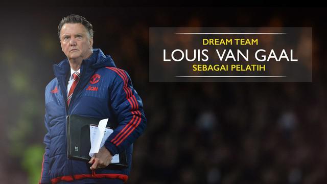 Berita video motion grafis dream team Louis van Gaal sebagai pelatih.