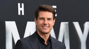 Si ganteng Tom Cruise ternyata miliki nama yang lebih panjang. Nama aslinya adalah Thomas Cruise Mapother, IV. (ANGELA WEISS / AFP)