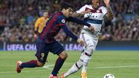 Barcelona-Bayern Boateng (JOSEP LAGO / AFP)