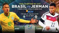 Prediksi Final Brasil Vs Jerman (Liputan6.com/Trie yas)