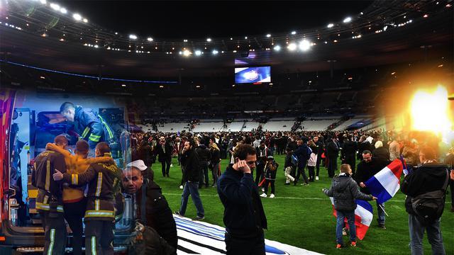 Fakta menarik di balik teror bom yang terjadi saat laga persahabatan Prancis vs Jerman diselengarakan di Stade de France, Paris Prancis pada Jumat (13/11/2015).