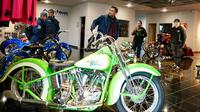 Ttim Suryanation Motorland Ride to USA mengunjungi workdshop Arlen Ness Motorcycles di San Fancisco, Amerika Serikat. (ist)