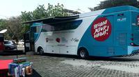 Bus Komisi Pemberantasan Korupsi (KPK) selama tiga hari akan berkeliling di Surabaya (Foto:Liputan6.com/Dian Kurniawan)