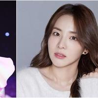 Duo Park Bom dan Sandara berkolaborasi di single terbaru, First Snow. (Istimewa)