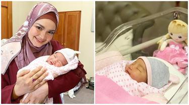 Siti Nurhaliza Saat Bersama Cucu Perempuannya yang Baru Lahir