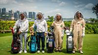 Peserta SMBC Singapore Open 2020 mempromosikan kampanye Game On. (Dok Lagardere Sports)
