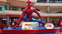 Dalam rangka menyambut liburan sekolah, tokoh superhero Spider-Man hadir di PIK Avenue Jakarta.