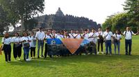 Famtrip Indochina ke Candi Borobudur.
