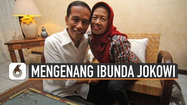 Ibunda Presiden Joko Widodo (Jokowi) meninggal dunia hari Rabu (25/3/20). sosoknya yang tidak pernah marah menjadikan kenangan bagi Jokowi dan keluarganya.