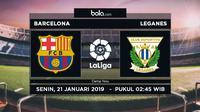 La Liga: Barcelona Vs Leganes (Bola.com/Adreanus Titus)