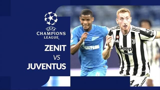 Berita motion grafis laga matchday 3 Grup H Liga Champions 2021/2022, Zenit St Petersburg melawan Juventus yang berakhir dengan skor 0-1, Kamis (21/10/2021) dinihari WIB.
