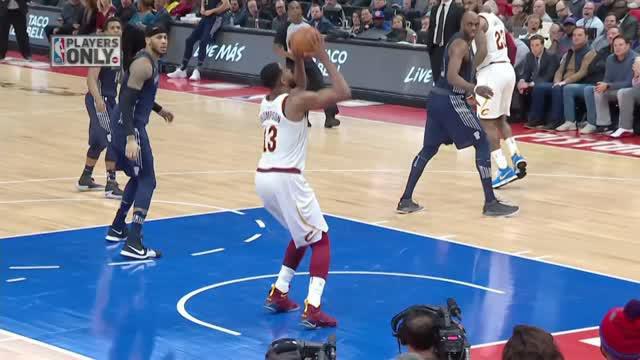Berita video game recap NBA 2017-2018 antara Detroit Pistons melawan Cleveland Cavaliers dengan skor 125-114.