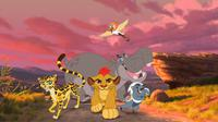 Disney Junior merilis sebuah preview video The Lion Guard: Return of the Roar, yang disebut bakal melanjutkan kisah film The Lion King.