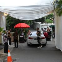 Suasana Lokasi Pernikahan Cut Tari dan Richard Kevin (Daniel Kampua/Fimela.com)
