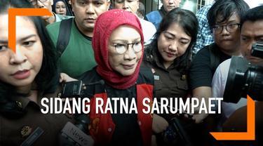 Hakim Pengadilan Negeri Jakarta Selatan menolak permohonan tahanan kota yang disampaikan Ratna Sarumpaet.