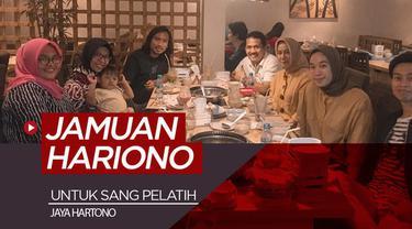 Berita video gelandang Hariono tak pernah lupa dengan pelatih yang telah mengasah bakatnya dan membesarkan namanya. Ia mengungkapkan rasa hormatnya kepada Jaya Hartono dengan sebuah jamuan makan bersama.