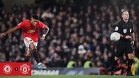 Marcus Rashford menjadi pahlawan kemenangan Manchester United atas Chelsea di Piala Liga. (dok. Manchester United)