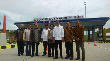 Presiden Jokowi telah meresmikan jalan tol Trans Sumatera ruas Bakauheni-Terbanggi Besar seksi I dari Pelabuhan Bakauheni ke Simpang Susun Bakauheni dan seksi 5 dari Lematang ke Kota Baru Lampung pada Minggu (21/1/2018).