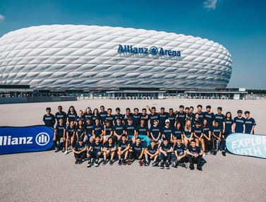 Allianz Explorer Camp Football 2019 di Jerman