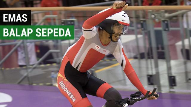 Berita video mengenai Muhammad Fadli raih medali emas pertama pada cabang balap sepeda Asian Para Games 2018, di Jakarta International Velodrome, Rawamangun, Jumat (12/10/2018).