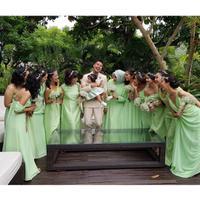 Inspirasi dress pendamping pengantin. (wulanguritno/instagram)