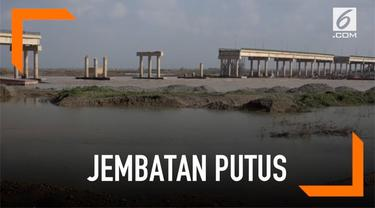 Banjir melanda wilayah Irak. Akibatnya jembatan Al Shirqat yang menjadi jalan utama menyebrangi sungai Tigris putus.