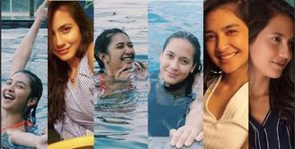 6 Potret Persahabatan Pevita Pearce dan Mikha Tambayong Bikin Cowok Kejang-Kejang