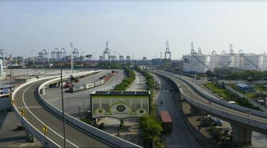 Ilustrasi Jalan Tol (Liputan6.com/Ilyas Istianur Praditya)