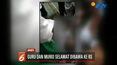 Jenazah Rafli langsung disemayamkan di rumah duka wilayah Kampung Sawah, Cilincing, Jakarta Utara.
