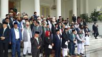 Penutupan Konferensi Ulama Afghanistan-Indonesia-Palestina di Istana Bogor, Jumat (11/5) (Rizki Akbar Hasan / Liputan6.com)