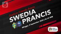 Swedia vs Prancis (Liputan6.com/Abdillah)