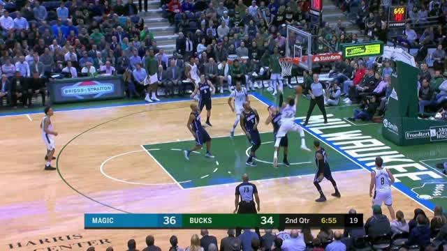 Berita video game recap NBA 2017-2018 antara Milwaukee Bucks melawan Orlando Magic dengan skor 110-103.