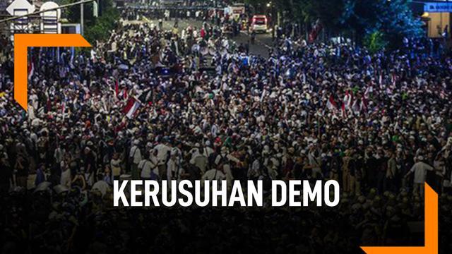 Kronologi Kerusuhan Demo Bawaslu