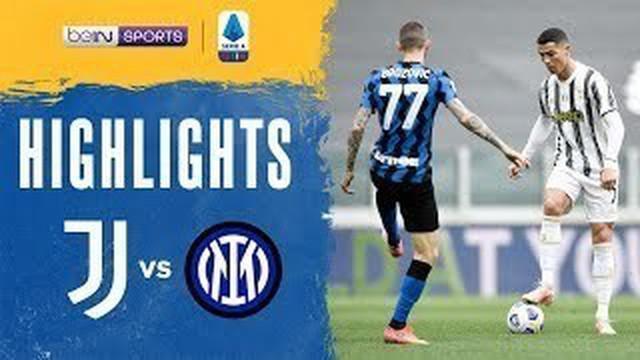 Berita video gol-gol yang terjadi dalam highlights kemenangan Juventus atas Inter Milan 3-2 pada pekan ke-37 Liga Italia 2020/2021, di mana Juan Cuadrado menorehkan gol fantastis dalam laga tersebut, Sabtu (15/5/2021) malam hari WIB.