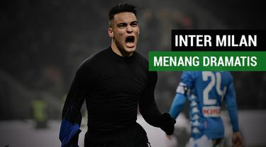 Berita Video Highlights Liga Italia 2018, Inter Milan Kalahkan Napoli