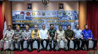"Ryamizard di acara simposium ""Kembali Ke Jati Diri TNI"" di Gedung AH Nasution Kemhan, Jakarta, Kamis (21/2/2019)."