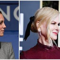 Nicole Kidman-Kate Middleton (PAUL ELLIS / AFP FRAZER HARRISON)