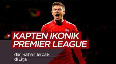 Berita video 10 kapten ikonik di Premier League beserta raihan terbaiknya di liga.