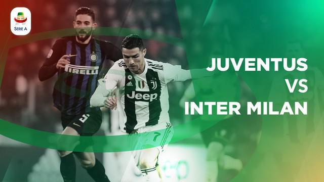 Berita video statistik Juventus vs Inter Milan pada laga pekan ke-15 Serie A 2018-2019, Sabtu (8/12/2018)
