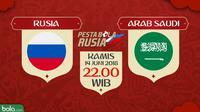 Piala Dunia 2018 Rusia Vs Arab Saudi (Bola.com/Adreanus Titus)
