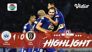 Babak Penyisihan #ShopeeLiga1 yang mempertemukan #PSIS Semarang vs #Bali United FC pada hari Jum'at sore (15/11/2019) berakhir den...