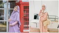 Artis Ini Jalani Puasa Ramadan 2021 saat Hamil. (Sumber: Instagram.com/nadyamustikarahayu/dindahw)