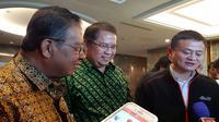 Pertemuan Jack Ma dengan Menkominfo Rudiantara di Jakarta. Liputan6.com/Agustinus Mario Damar