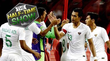 Berita video halftime show tentang bagaimana peluang Timnas Indonesia lolos dari grup neraka di Piala AFF 2018 ini?