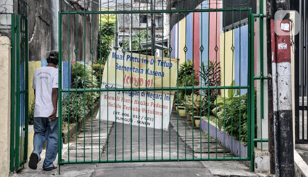Foto Zona Merah Covid 19 Di Jakarta Melonjak Jadi 82 Rw News Liputan6 Com