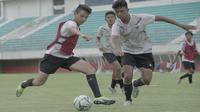 Gelandang Timnas Indonesia U-16 keturunan Kanada, Victor Jonson (kiri). (PSSI).