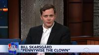Bill Skarsgard (YouTube/  The Late Show with Stephen Colbert)