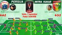 Persija Jakarta vs Mitra Kukar (Bola.com/Samsul Hadi)