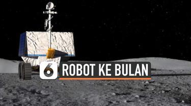 NASA akan mengirim robot sebesar mobil golf ke bulan pada 2022 mendatang. Robot yang bernama Viper ini bertugas untuk mencari sumber air di permukaan bulan sebelum manusia direncanakan menempuh perjalanan ke bulan tahun 2024.