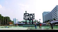 Kompleks Gedung DPR (Liputan6.com/Faisal R Syam)